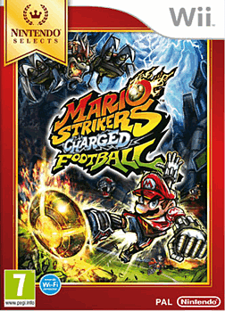 Mario Strikers Charged - Nintendo Selects Wii Cover Art