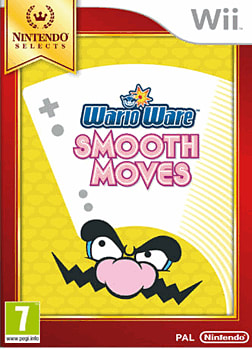 Warioware: Smooth Moves -  Nintendo Selects Wii Cover Art