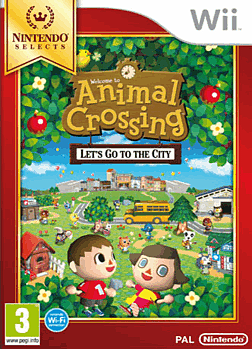 Animal Crossing: Lets go to the City - Nintendo Selects Wii Cover Art