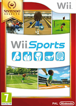 Wii Sports - Nintendo Selects Wii Cover Art