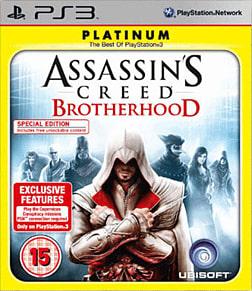 Assassin's Creed Brotherhood Platinum PlayStation 3