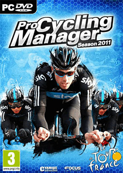 Pro Cycling Manager Tour de France 2011 PC Games Cover Art