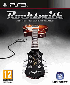 Rocksmith Playstation 3 Cover Art