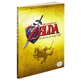 The Legend of Zelda: Ocarina of Time 3D Strategy Guide Strategy Guides and Books