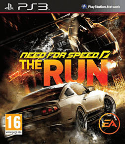 Need for Speed: The Run PlayStation 3 Cover Art