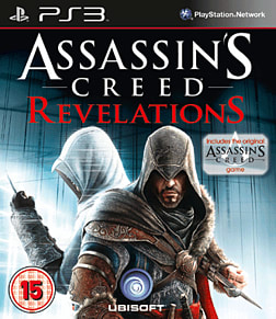 Assassins Creed Revelations PlayStation 3 Cover Art