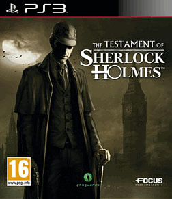 The Testament of Sherlock Holmes PlayStation 3 Cover Art