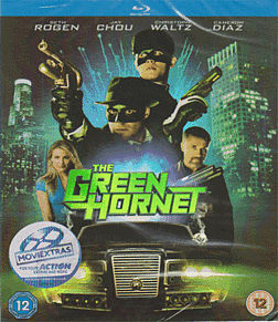 Green Hornet Blu-ray