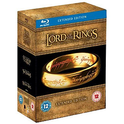 Lord of the Rings Trilogy: Extended Edition Blu-ray
