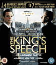 Kings Speech Blu-ray