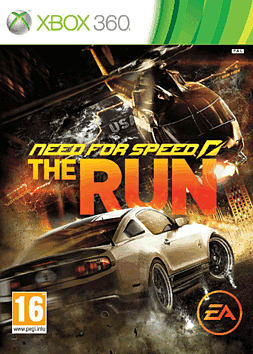Need for Speed: The Run Xbox 360 Cover Art