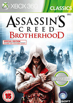 Assassin's Creed Brotherhood Classic Xbox 360 Cover Art
