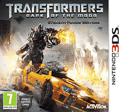 Transformers: Dark of the Moon - Stealth Force Edition 3DS Cover Art
