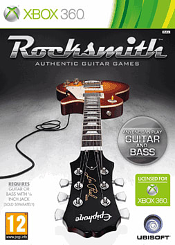 Rocksmith Xbox 360 Cover Art