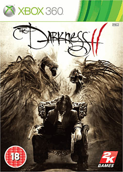 The Darkness II Xbox 360 Cover Art
