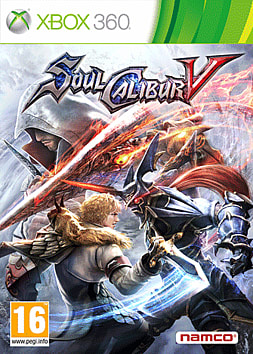 Soul Calibur V Xbox 360 Cover Art
