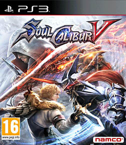 Soul Calibur V PlayStation 3 Cover Art