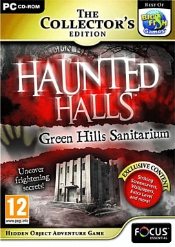 Haunted Halls: Green Hills Sanitarium Collector's Edition PC Games Cover Art