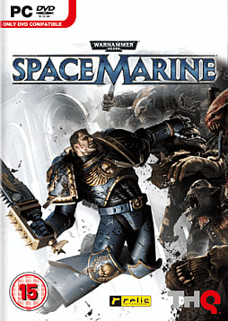 Warhammer 40K Space Marine PC Games Cover Art