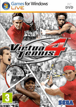 Virtua Tennis 4 PC Games Cover Art