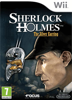 Sherlock Holmes: The Secret Of The Silver Earring Wii Cover Art