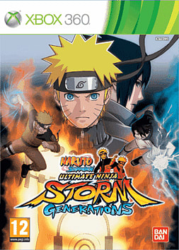 Naruto Shippuden Super Ultimate Ninja Storm Generations Xbox 360 Cover Art