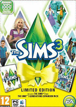 The Sims 3 Generations  Limited Edition PC Games Cover Art