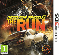 Need for Speed: The Run 3DS Cover Art