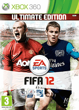 FIFA 12 Ultimate Edition Xbox 360 Cover Art