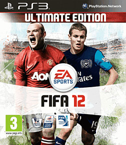 FIFA 12 Ultimate Edition PlayStation 3 Cover Art