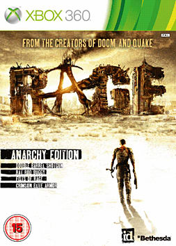 Rage: Anarchy Edition Xbox 360 Cover Art