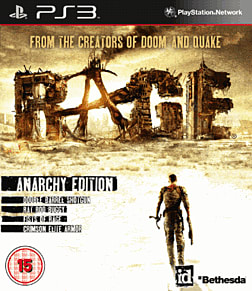 Rage: Anarchy Edition PlayStation 3 Cover Art