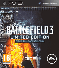 Battlefield 3 Limited Edition: Physical Warfare Pack PlayStation 3 Cover Art