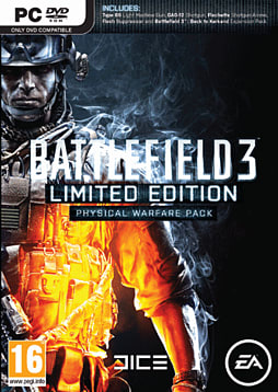 Battlefield 3 Limited Edition: Physical Warfare Pack PC Games Cover Art