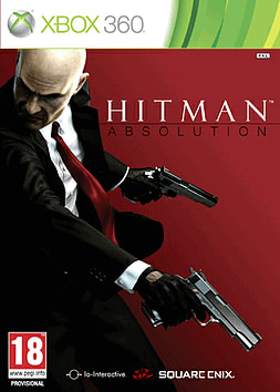 Hitman Absolution Xbox 360 Cover Art