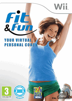 Fit & Fun Wii Cover Art