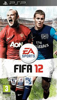FIFA 12 PSP Cover Art