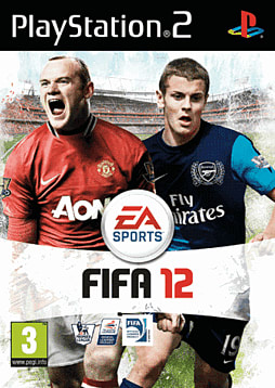 FIFA 12 PlayStation 2 Cover Art