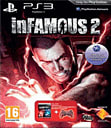 Infamous 2 with Crimson Red Dualshock 3 Controller PlayStation 3