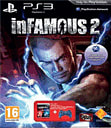 Infamous 2 with Cosmic Blue Dualshock 3 Controller PlayStation 3
