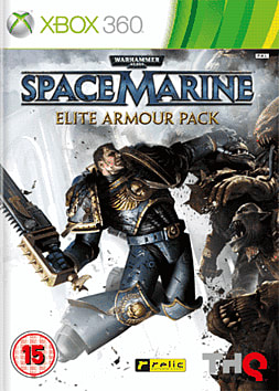 Warhammer 40K Space Marine Elite Armour Pack Xbox 360 Cover Art