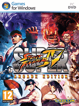 Super Street Fighter IV Arcade Edition PC Games Cover Art