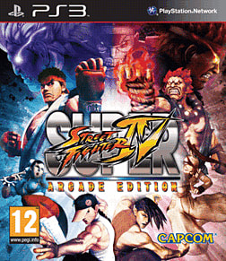 Super Street Fighter IV Arcade Edition PlayStation 3 Cover Art