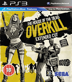 House of the Dead Overkill (Move compatible) PlayStation 3 Cover Art