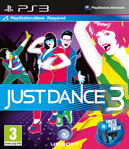 Just Dance 3 PlayStation 3 Cover Art