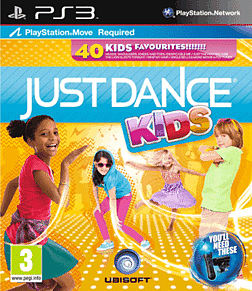 Just Dance Kids PlayStation 3 Cover Art