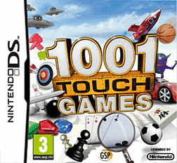 1001 Touch Games DSi and DS Lite Cover Art