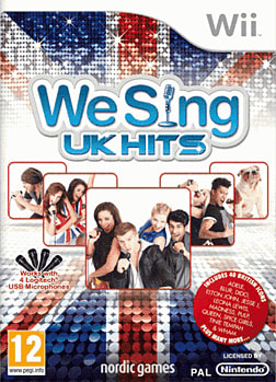 We Sing UK Wii Cover Art