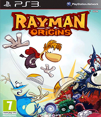 Rayman Origins on the PS3