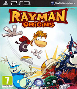 Rayman Origins PlayStation 3 Cover Art